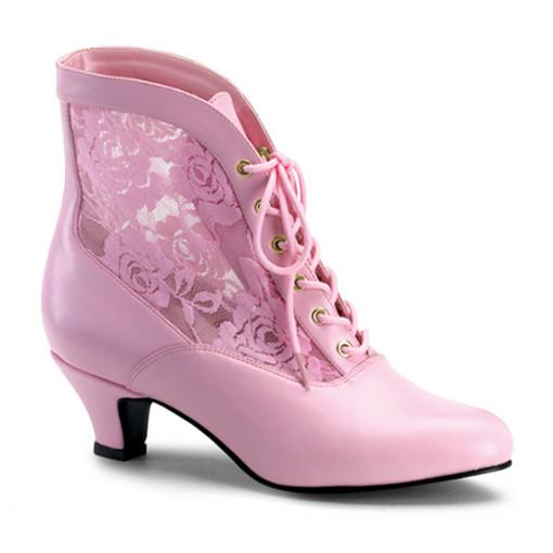 Funtasma DAME-05 B. Pink Pu-Lace