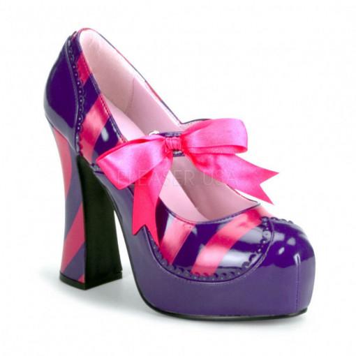 Funtasma KITTY-32 Purple-H. Pink Pat