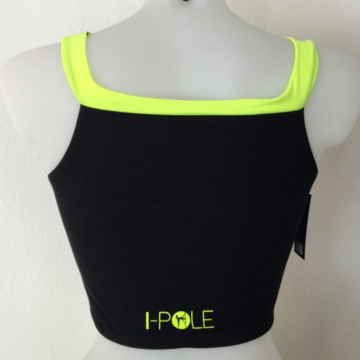 I-POLE WEAR - Set Top + Short pole ADRIA Nero\Yellow immagini