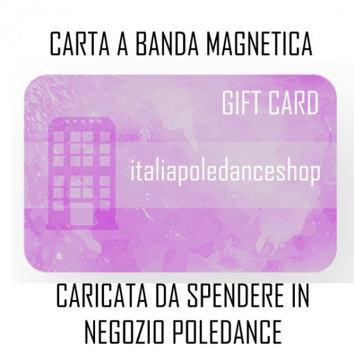 REGALA GIFT CARD POLE  Carta prepagata regalo immagini