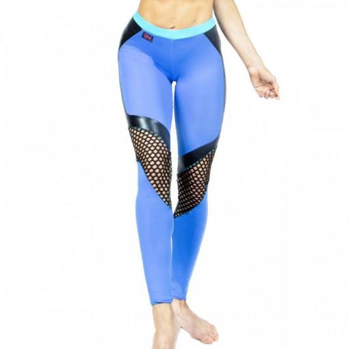 WINK POLE Camilla Leggings W0186 Azzurro