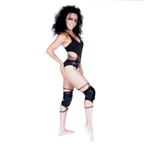 WINK POLE Dance Panther Ginocchiere con Pads W0196