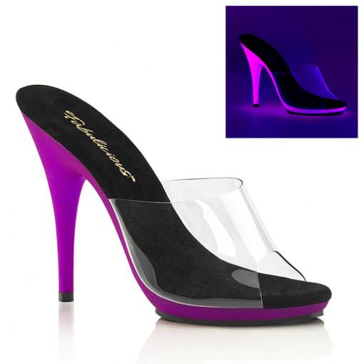 Fabulicious POISE-501UV Clr/Neon Purple