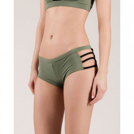 MADEMOISELLE SPIN - LULU SHORTS ARMY GREEN