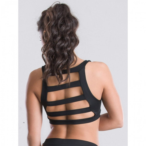 POINT OUT POLE WEAR - Trapped in Straps Top