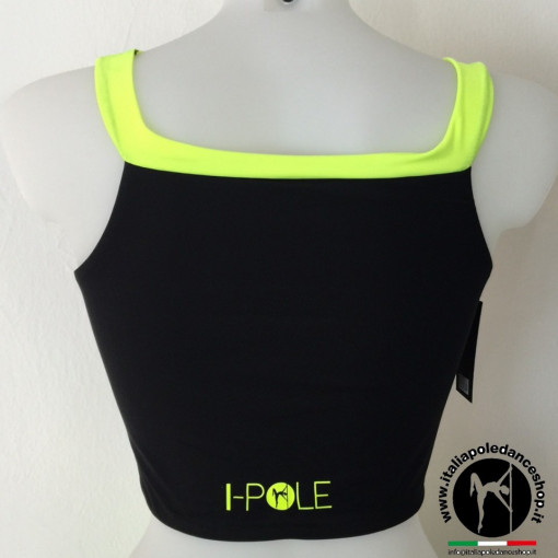 I-POLE WEAR - Top Adria Nero-Neon immagini