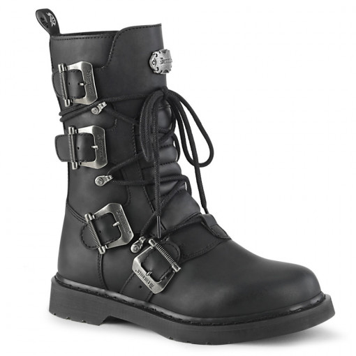 Demonia BOLT-265 Blk Vegan Leather