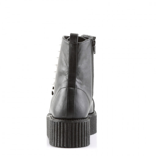 Demonia V-CREEPER-573 Blk Vegan Leather