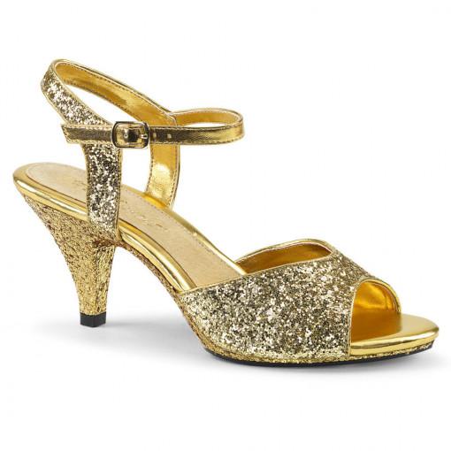 Fabulicious BELLE-309G Gold Glitter/Gold Glitter