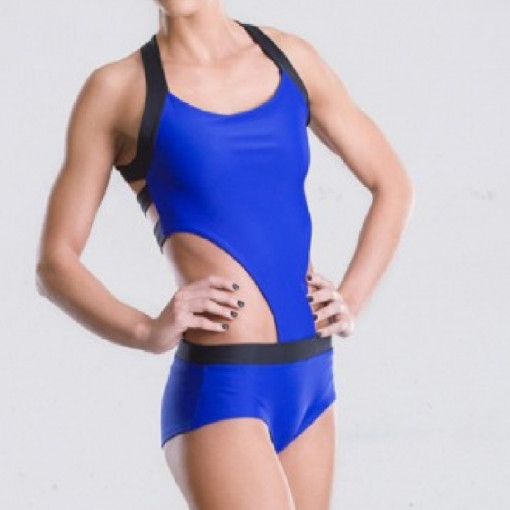 POINT OUT  COMPLETO BODY Sapphire Leotard immagini