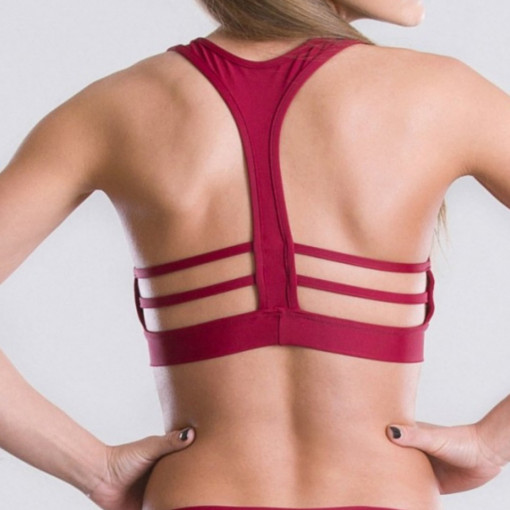 POINT OUT POLE WEAR - IMPULSE BURGUNDY TOP immagini