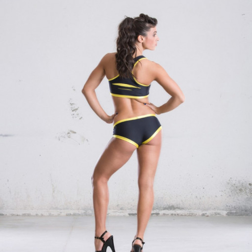 POINT OUT POLE WEAR - Tiger's Eye Top