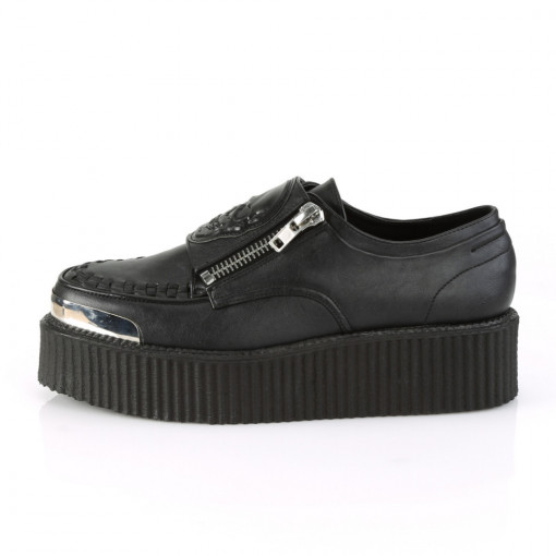 Demonia V-CREEPER-510 Blk Vegan Leather
