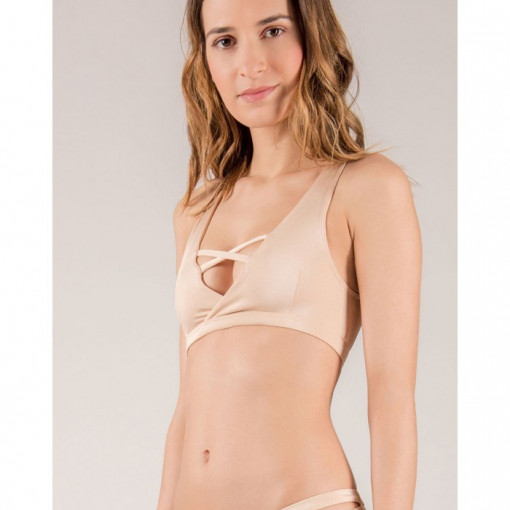 MADEMOISELLE SPIN - TOP PIGALLE Crema
