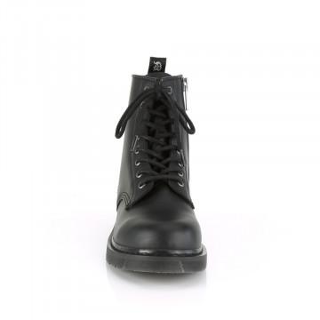 Demonia BOLT-100 Blk Vegan Leather