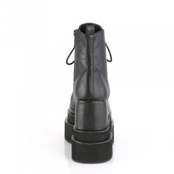Demonia ETERNAL-106 Blk Vegan Leather