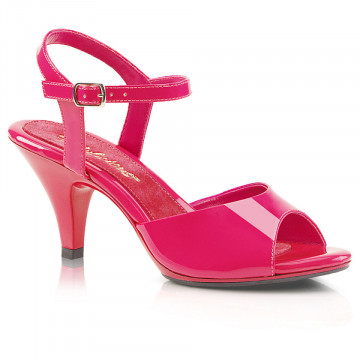 Fabulicious BELLE-309 Hot Pink Pat/Hot Pink
