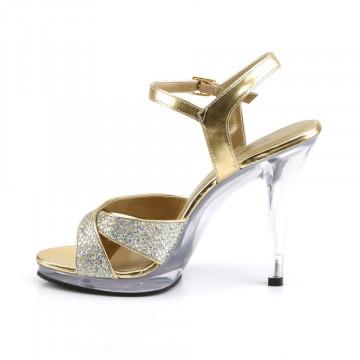 Fabulicious FLAIR-419(G) Gold Multi Glitter/Clr