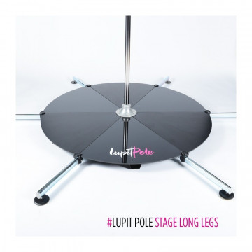 LUPIT Pedana pole dance INOX STAGE STAINLESS STEEL 45MM