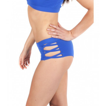 MADEMOISELLE SPIN - ISADORA SHORTS ELECTRIC BLUE