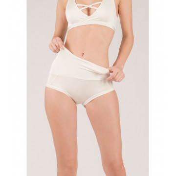 Mademoiselle spin Short EXTENDED Bianco