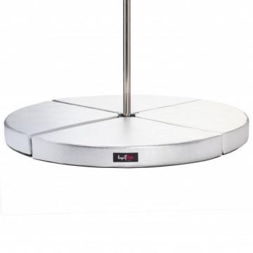 Materassino Poledance Lupit Premium 12cm Argento