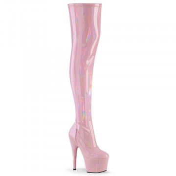 Pleaser ADORE-3000HWR B. Pink Str. Holo/B. Pink Ho