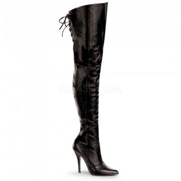 Pleaser LEGEND-8899 Blk Leather (P)