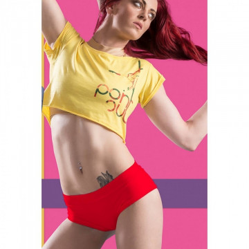 POINT OUT POLE WEAR - RASPBERRY SHORT SORBET s