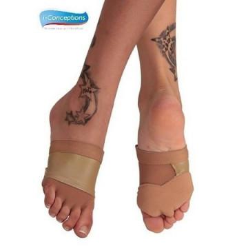 Poledance Trixie Toes grip punte piedi danza NERO M