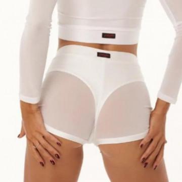 Polerina wear Bottom Bolero mesh + double lycra