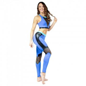 WINK POLE Camilla Crop Top W0183 blu
