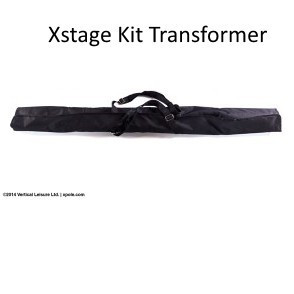 X-pole US KIT per Pedana X-STAGE Transformer Cromo 45