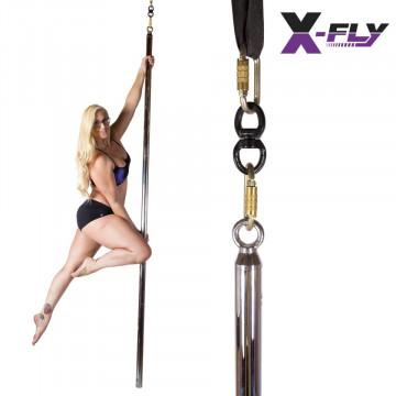 X-pole X Fly Pole palo snodato libero SPORT ( spedizione inclusa )