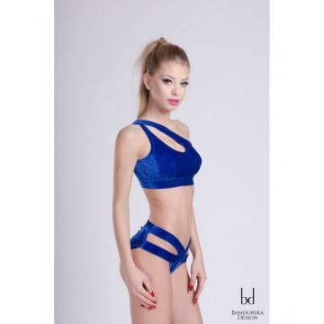 Bandurska Design - Blue Velvet Short