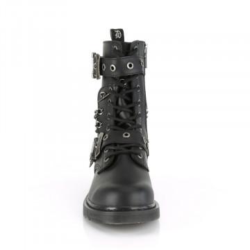 Demonia BOLT-250 Blk Vegan Leather