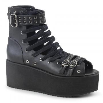 Demonia GRIP-105 Blk Vegan Leather