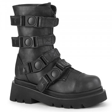 Demonia RENEGADE-55 Blk Vegan Leather