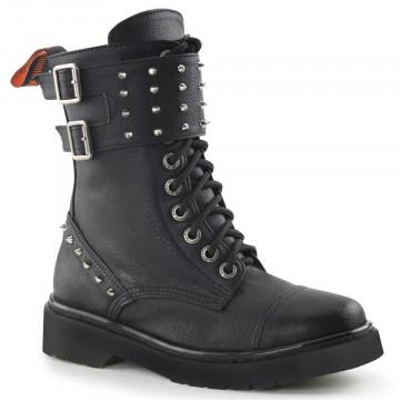 Demonia RIVAL-309 Blk Vegan Leather