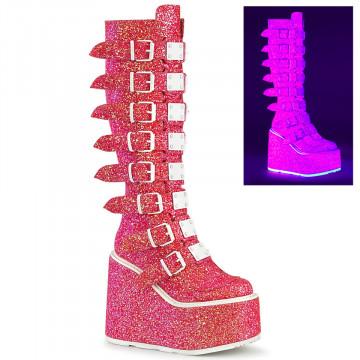 Demonia SWING-815UV Pink Glitter