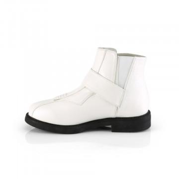 Funtasma CLONE-102 White Faux Leather