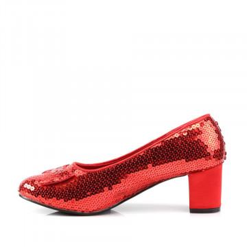 Funtasma DOROTHY-01 Red Sequins