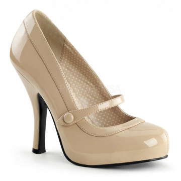 Pin Up Couture CUTIEPIE-02 Cream Pat