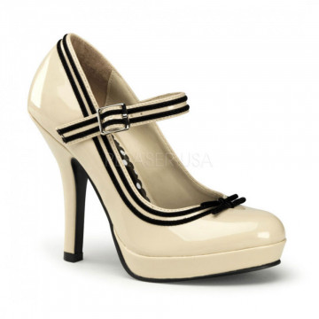 Pin Up Couture SECRET-15 Cream Pat