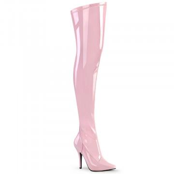 Pleaser SEDUCE-3000 B. Pink Str Pat