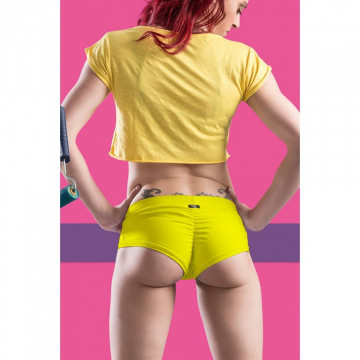 POINT OUT POLE WEAR - LIME SHORT SORBET BOTTOM COLLECTION