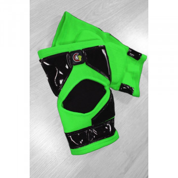 Mighty grip 2 Ginocchiere OG Tack LONG Verde neon