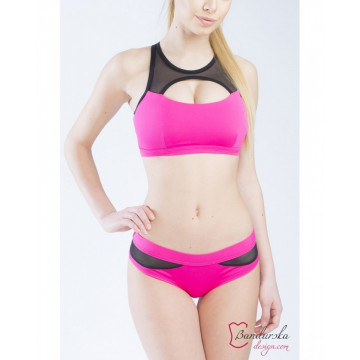 Bandurska Design - Pink Lake Short