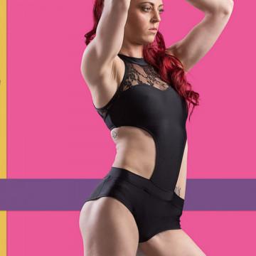 Body Pointout Black Swan cigno nero yoga e pole