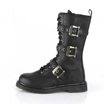 Demonia BOLT-330 Blk Vegan Leather